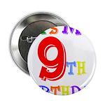 9th Birthday Button