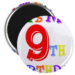 9th Birthday Magnet