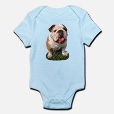 Bulldog Photo Onesie