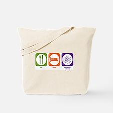 Eat Sleep Materials Science Tote Bag