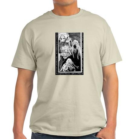 Cthulhu and the Mad Arab Ash Grey T-Shirt