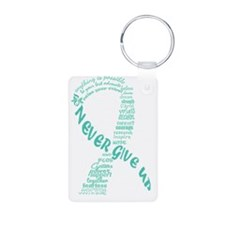 PCOS Awareness Month 2013 Keychains
