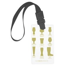 Proper Glassware Luggage Tag