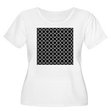 Black Quatref T-Shirt