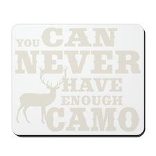 Hunting Camo Humor Mousepad