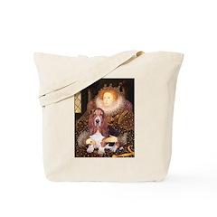 Queen & Basset Tote Bag