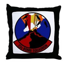 23rd Bomb Squadron Throw Pillow