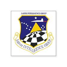 "548th Intelligence Group Square Sticker 3"" x 3"""