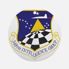548th Intelligence Group Round Ornament