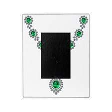 Emerald and Diamond Necklace Picture Frame