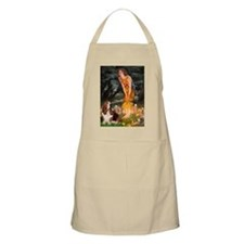 Fairies & Basset Apron