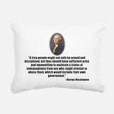 Gun Control Rectangular Canvas Pillow