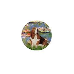 Lilies & Basse Mini Button (10 pack)
