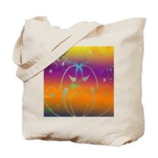 Butterflies and Cosmos Tote Bag