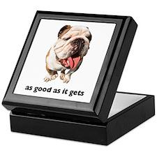 Good Bulldog Photo Keepsake Box