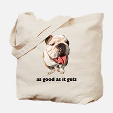 Good Bulldog Photo Tote Bag