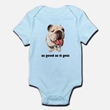 Good Bulldog Photo Infant Bodysuit