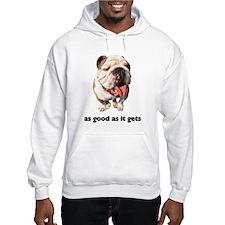 Good Bulldog Photo Hooded Sweatshirt