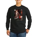 The Accolade & Basset Long Sleeve Dark T-Shirt