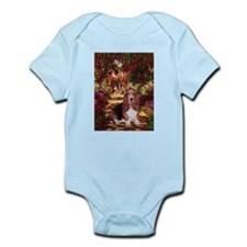 The Path & Basset Infant Bodysuit
