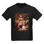 The Path & Basset Kids Dark T-Shirt