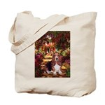 The Path & Basset Tote Bag