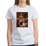 The Path & Basset Women's T-Shirt