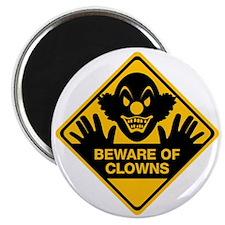Beware of Clowns Magnet