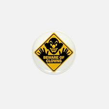 Beware of Clowns Mini Button