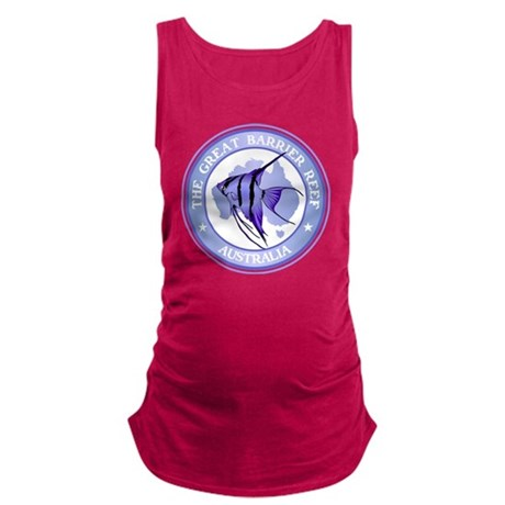 Australia -The Great Barrier Re Maternity Tank Top