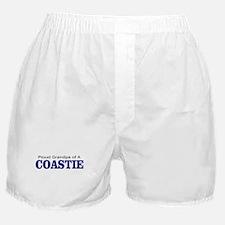 Proud Grandpa of a Coastie Boxer Shorts