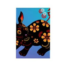 Year Of The Rabbit Rectangle Magnet