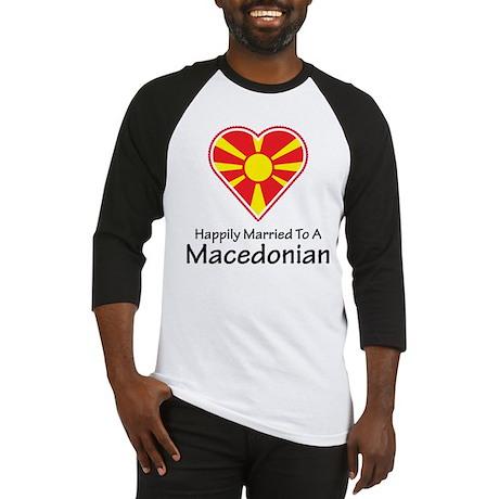 Happily Married Macedonian Baseball Jersey