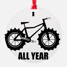 I Fatbike All year Ornament