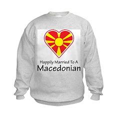 Happily Married Macedonian Sweatshirt