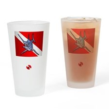 Dive Instructor (Marlin) Drinking Glass