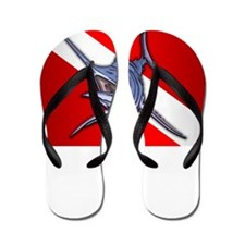 Dive Instructor (Marlin) Flip Flops