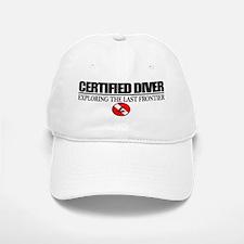 Certified Diver (Marlin) Baseball Baseball Cap