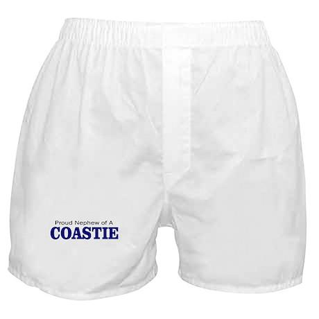 Proud Nephew of a Coastie Boxer Shorts