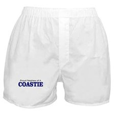 Proud Nephew of a Coastie Boxer Shorts