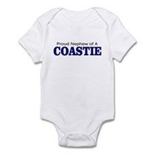 Proud Nephew of a Coastie Infant Bodysuit