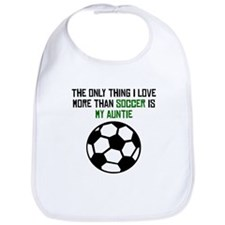 Soccer Auntie Bib