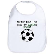 Soccer Aunt Bib
