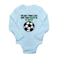 Soccer Sister Body Suit