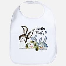Funny Rabbits Bib