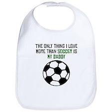 Soccer Daddy Bib
