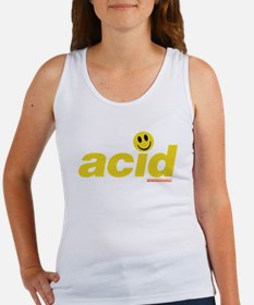 Acid Smiley Women's Tank Top