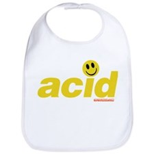 Acid Smiley Bib