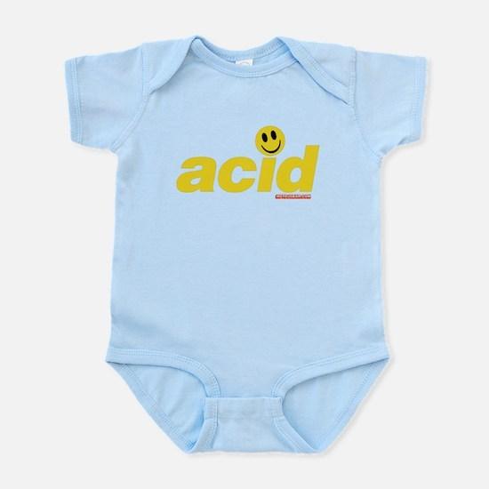 Acid Smiley Infant Bodysuit