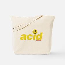 Acid Smiley Tote Bag